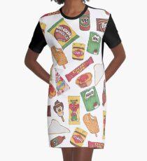 Treats Graphic T-Shirt Dress