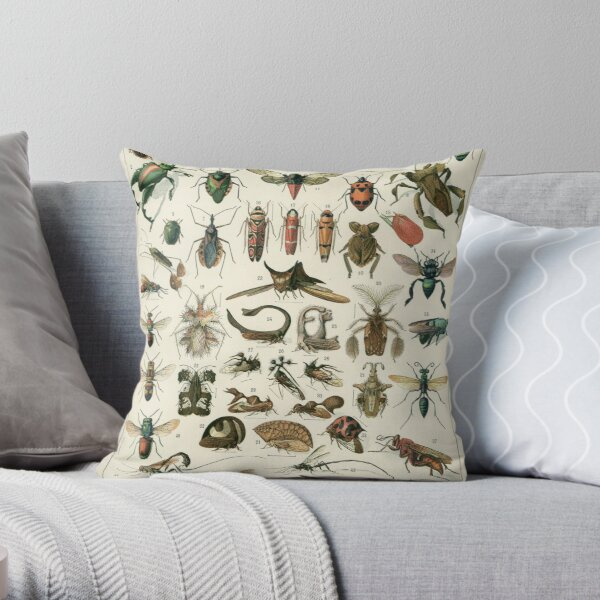 Insects 1 Throw Pillow