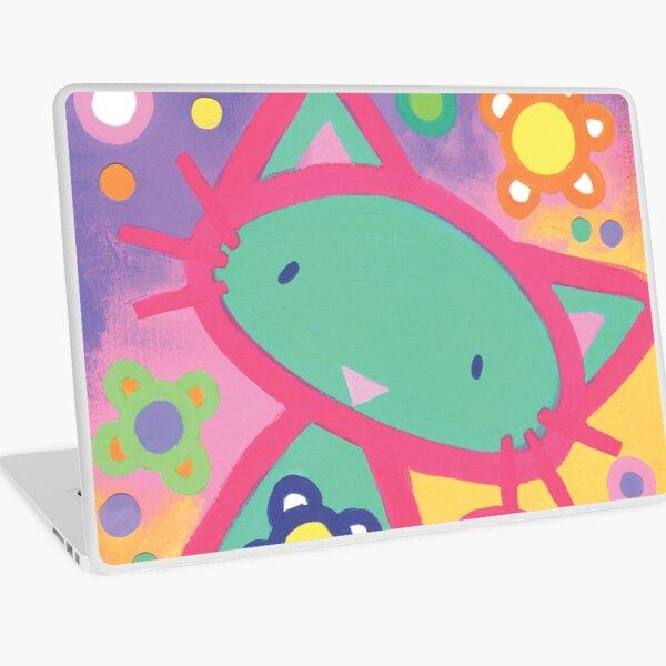 Minty Kitty Laptop Skin