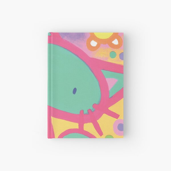 Minty Kitty Hardcover Journal