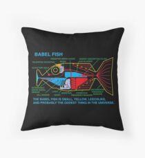 NDVH Babel Fish Throw Pillow