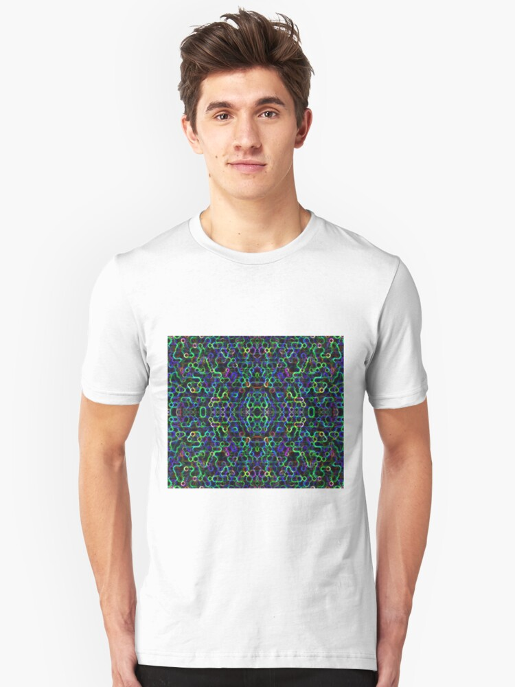 Alternate view of Candy Necklace - Limeberry Slim Fit T-Shirt