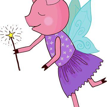 Fairy pig by Marishkayu