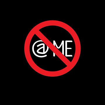 Don't @ Me symbol by eldram