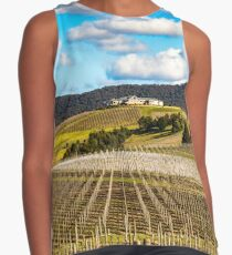 Winery in winter Sleeveless Top