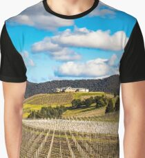 Winery in winter Graphic T-Shirt