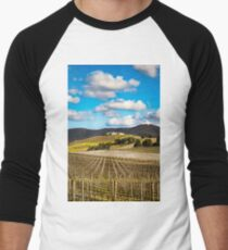 Winery in winter Baseball ¾ Sleeve T-Shirt