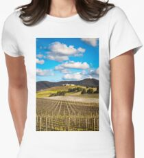 Winery in winter Fitted T-Shirt
