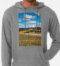 Winery in winter Lightweight Hoodie