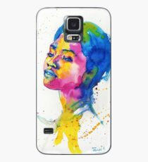 Ink portrait Case/Skin for Samsung Galaxy