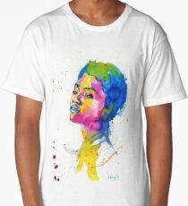 Ink portrait Long T-Shirt