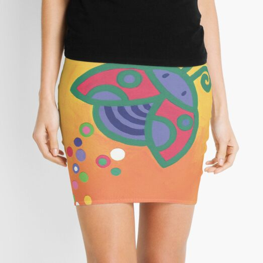 Flying Ladybird Mini Skirt