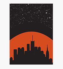 Light pollution Photographic Print