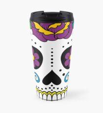 Sugar Skull Travel Mug