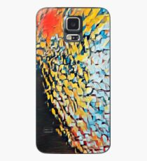 Oil Jagged Edges 001 Case/Skin for Samsung Galaxy