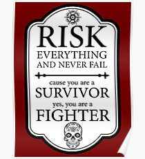 Risk everything Poster