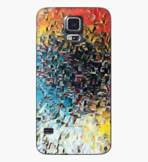 Oil Jagged Edges 002 Case/Skin for Samsung Galaxy