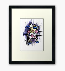 Mr Mime Framed Print
