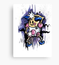 Mr Mime Canvas Print