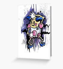 Mr Mime Greeting Card