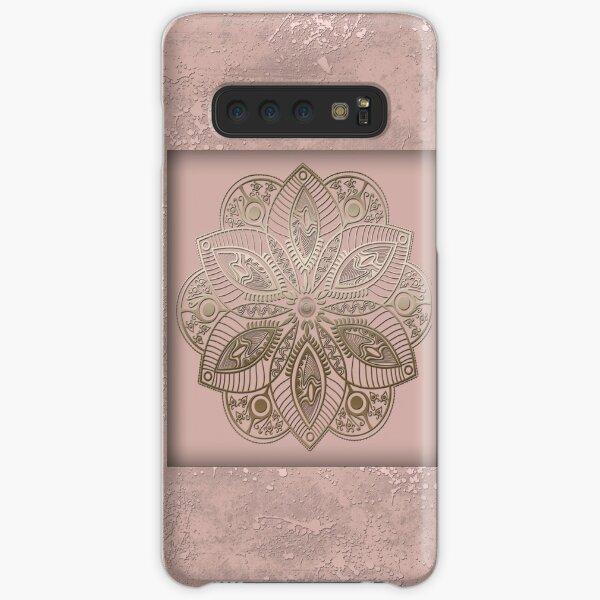 Mandala rosegold 2 Samsung Galaxy Snap Case