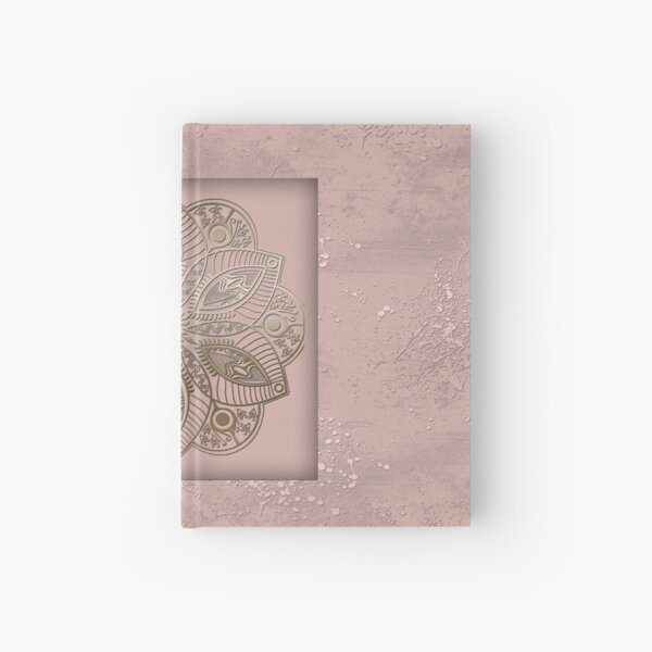 Mandala rosegold 2 Hardcover Journal
