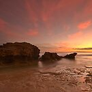 Point Lonsdale Sunset by RichardIsik
