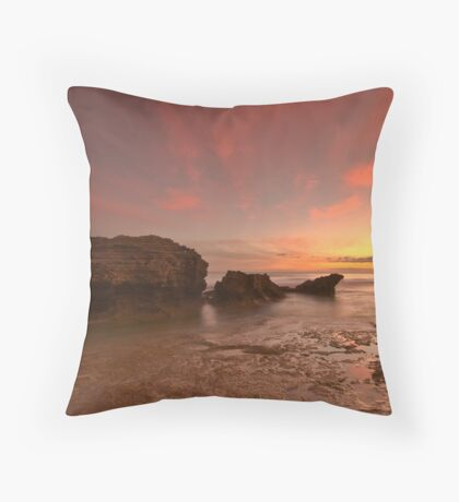 Point Lonsdale Sunset Throw Pillow