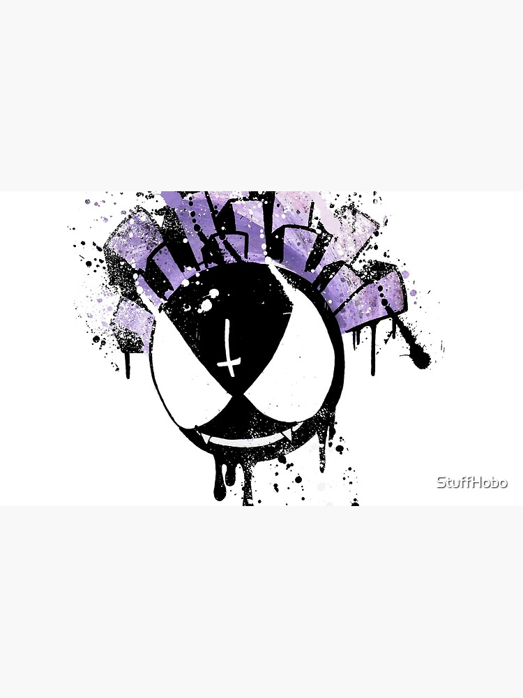 Gastly (dark twist) by StuffHobo