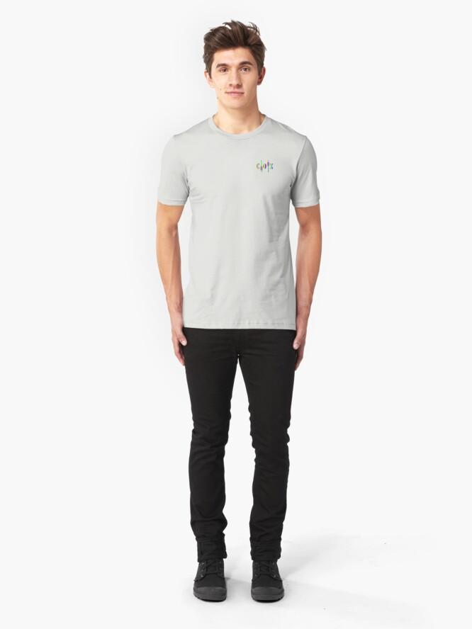Alternate view of Pride C O X Paddles small Slim Fit T-Shirt