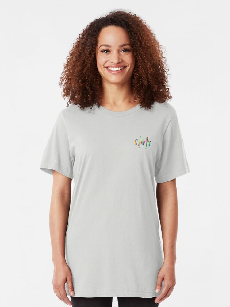 Alternate view of Pride C|O|X Paddles small Slim Fit T-Shirt