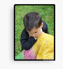 At Mother's Knee Canvas Print