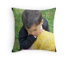 At Mother's Knee Throw Pillow