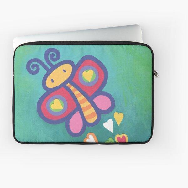 Flying Butterfly Laptop Sleeve