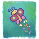 Flying Butterfly by Christine Jopling