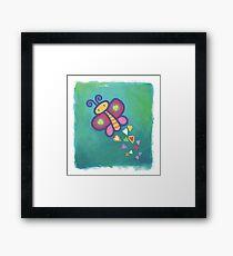 Flying Butterfly Framed Print