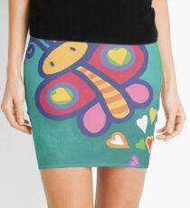 Flying Butterfly Mini Skirt