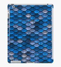 Blue Scale iPad Case/Skin