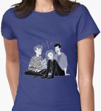 dan & phil - der Bär und der Löwe Tailliertes T-Shirt für Frauen