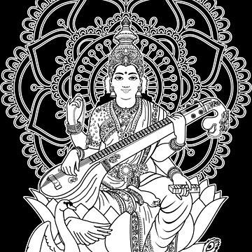 Saraswati by tshart
