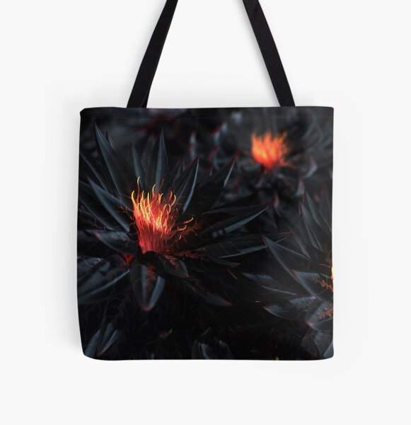 Nightshade All Over Print Tote Bag