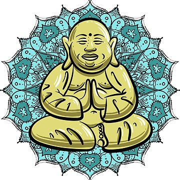 Golden Buddha by TheMaker
