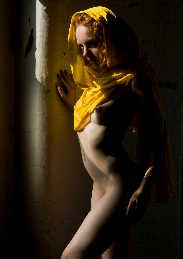 Ivory Flame Yellow 2 by HandsworthPhoto