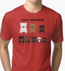 Know Your Bears Tri-blend T-Shirt
