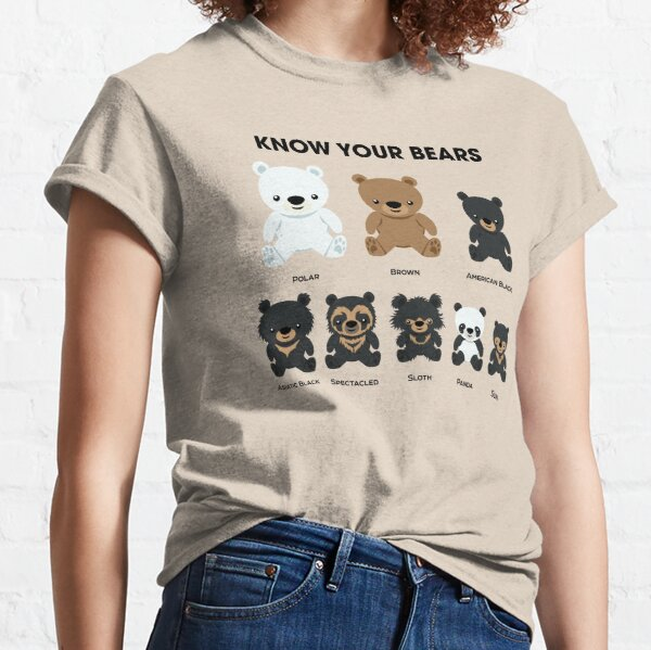 Know Your Bears Classic T-Shirt