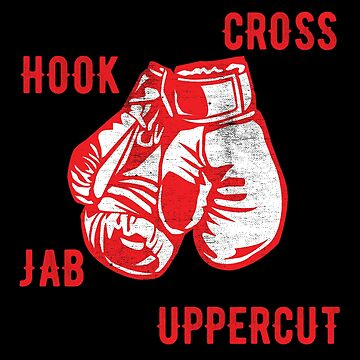 Boxing Design - Cross Hook Jab Uppercut by kudostees
