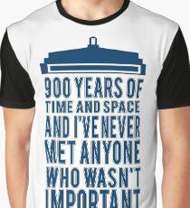 BLUE POLICE BOX Graphic T-Shirt