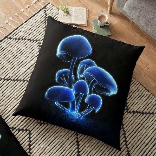 Fluorescence Floor Pillow