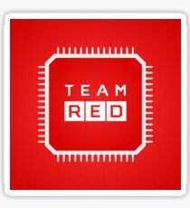 Team Red Sticker