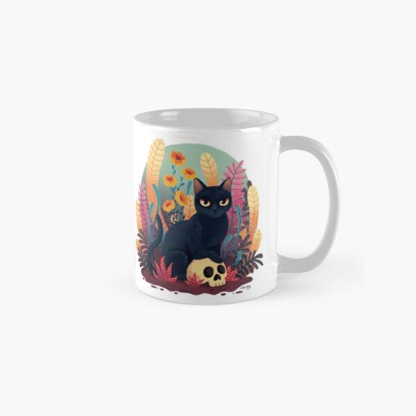 Skull kitty Classic Mug